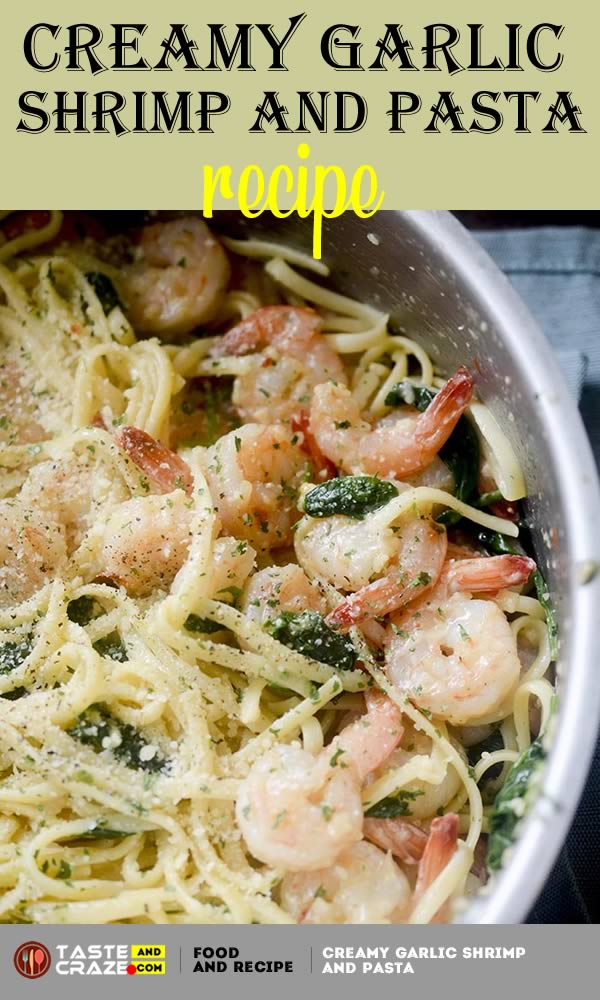 Creamy Garlic Shrimp and Pasta. I fixed this meal for my husband and family, and they thoroughly enjoyed. I too was most impressed with it as well. I did add a couple of things: Italian Seasoning, Salt, Pepper for more flavor. Thank you for a fine dish for this garlic shrimp and pasta