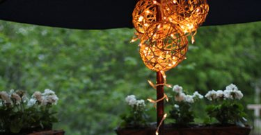 There is a story with this Outdoor Lantern Lights. I was embarking on my newfound love of Pinterest, I was also on the hunt for an outdoorsy DIY project.