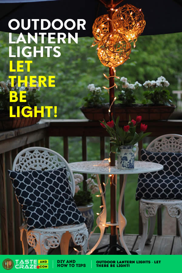 Outdoor Lantern Lights - Let There Be Light! Outdoor #Lantern #Lights