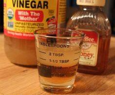 Apple Cider Vinegar Cold Remedy