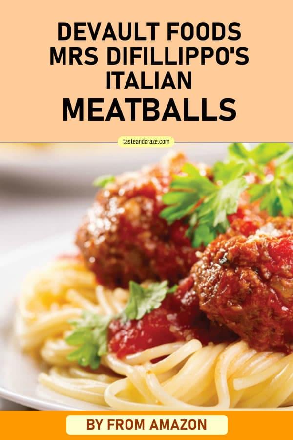 Devault Foods Mrs DiFillippo's Italian Meatballs #ItalianMeatballs #Meatballs #DevaultFoods #MrsDiFillippo #Parmesan #Casserole #MeatballCasserole #easyrecipe #deliciousrecipe