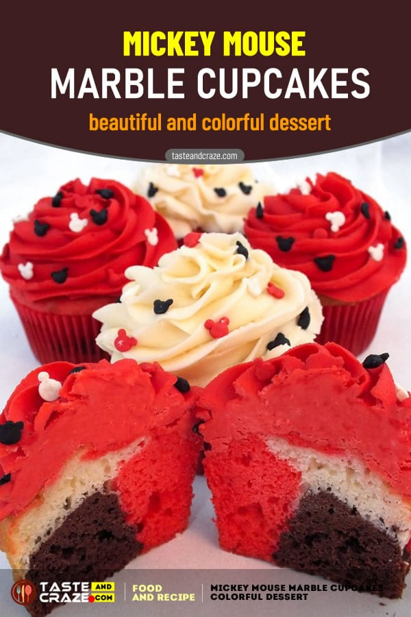 #Cupcakes #Cupcake #MarbleCake #Mickey #MickeyMouse How to make Mickey Mouse Marble Cupcakes- Beautiful and Colorful Dessert #MickeyMouseParty #Dessert #MarbleCupcakes