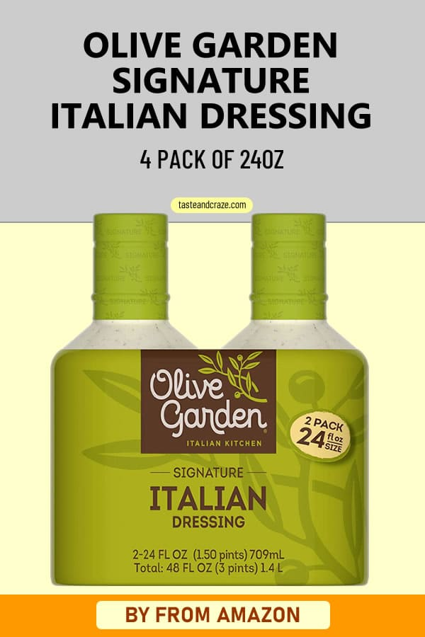 Olive Garden Signature Italian Dressing - The best dressing out there #OliveGarden #ItalianDressing #amazon #AmazonProduct #OliveGardenRecipe