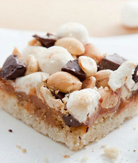 Blonde Rocky Road Brownies