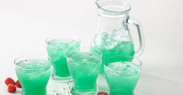 ST PATRICK'S DAY LEPRECHAUN RASPBERRY LEMONADE