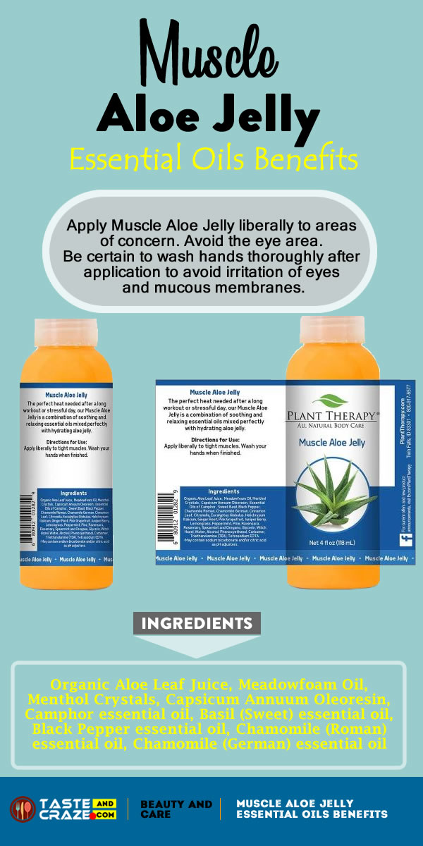 Muscle Aloe Jelly Essential Oils Benefits