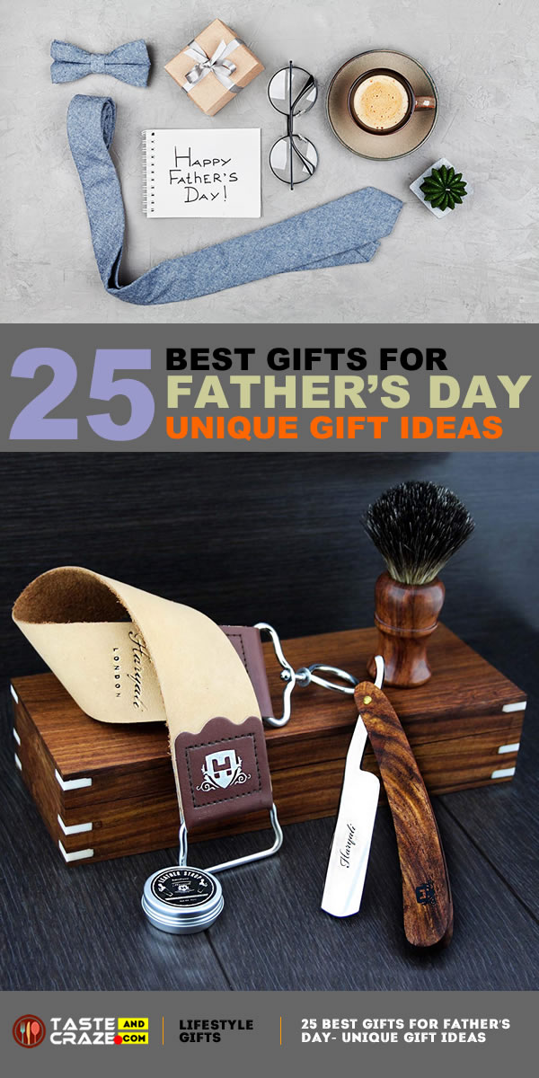 BEST GIFTS FOR FATHER'S DAY- UNIQUE GIFT IDEAS