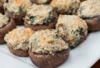 Creamy Spinach-Stuffed Mushrooms Recipe
