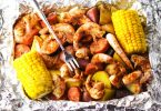 tasteandcraze.com-Shrimp Boil Foil Packets are packed with shrimp