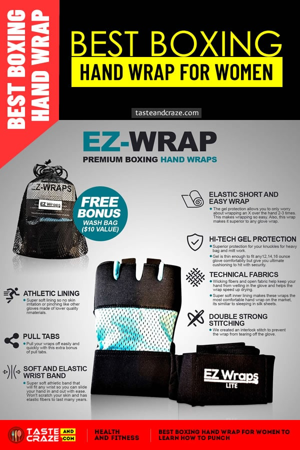 Best Boxing Hand Wrap for Women to Learn How to Punch #BestHandWrap #HandWrap #BestHandWrapForWomen #HandWrapForWomen #BoxingHandWrap #BoxingWrap #EZWRAP ##HandWraps