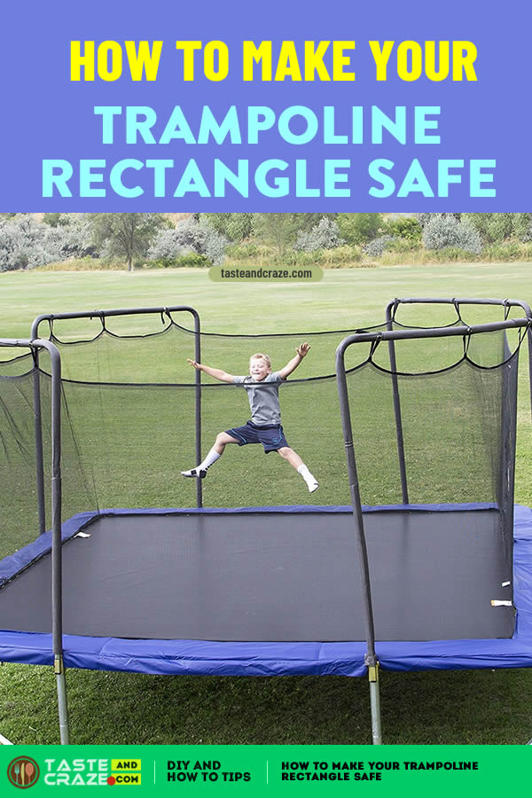 #trampolinerectangle #trampoline #trampolineinjuries How to make your trampoline rectangle safe