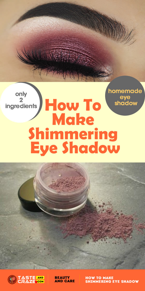 How To Make Shimmering Eye Shadow with Arrowroot powder