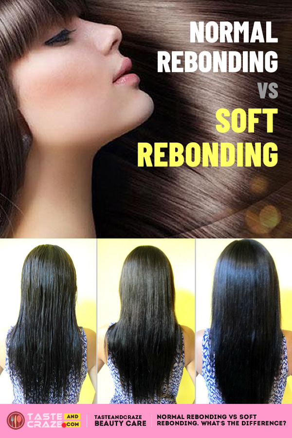 Normal rebonding vs soft rebonding- What's the difference. #NormalRebonding #SoftRebonding #hairrebonding #hairstyles #haircolor