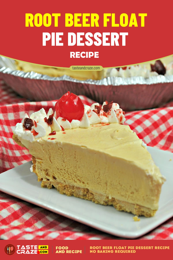 Root Beer Float Pie Dessert Recipe #RootBeer #FloatPie #DessertRecipe #PieDessertRecipe #PieDessert #PieRecipe No baking required either!! It's so simple and the flavor is spot on!