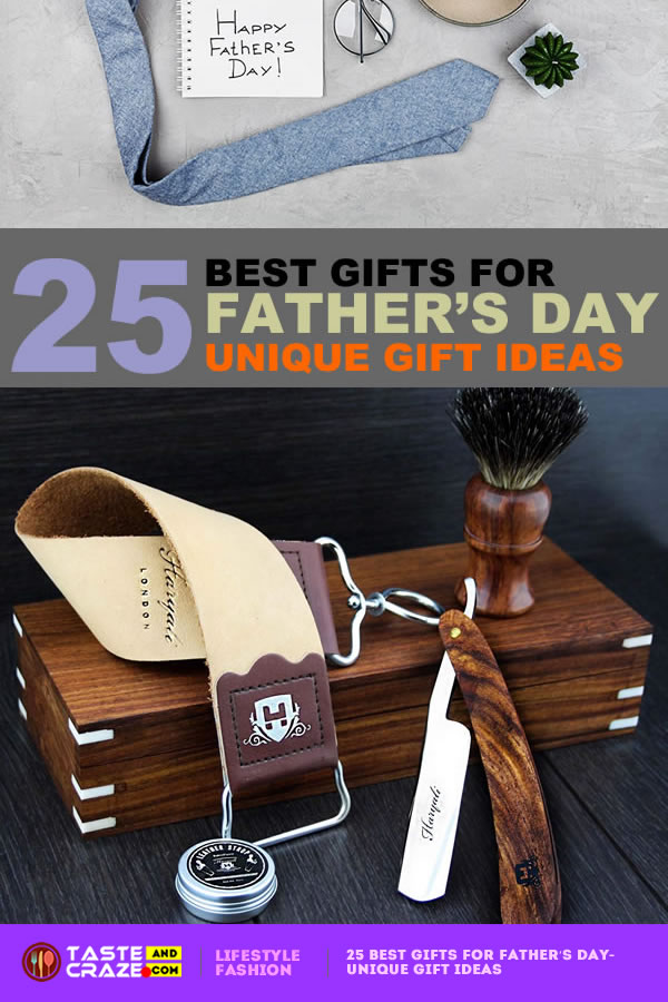 25 Best Gifts for Father's Day- Unique Gift Ideas. #Father'sDay #GiftIdea #WhatILove #BestGift #LoveBook #KnockKnock #UniqueGift #GiftsforFather