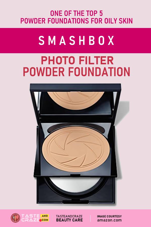 Top 5 Powder Foundations For Oily Skin- Smashbox Photo Filter Powder Foundation #PowderFoundations #PowderFoundation #Foundations #Foundation #LOreal #OilySkin #skinCare #TrueMatch #CompactFoundation #Infallible #Compact #LOrealParis #Smashbox #PhotoFilter