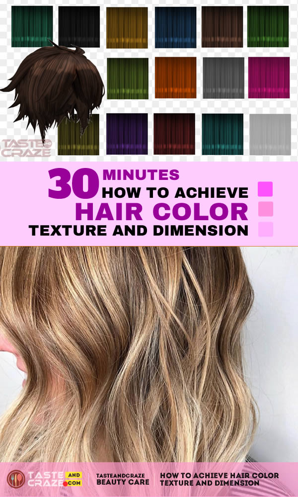 How to achieve hair color texture and dimension. Who wants one color gone you can have two? The days of flat, one-note hair color are on top of, for that marginal note use this easy step-by-step to tote taking place two colors you concerning fond for a see filled as soon as natural texture and dimension.
