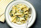 Summer Pasta With Zucchini, Ricotta and Basil