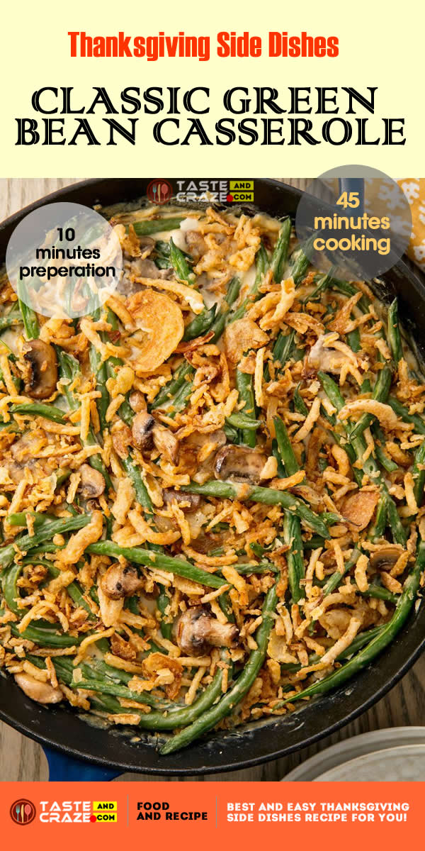 Thanksgiving side dishes-Green Bean Casserole