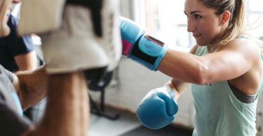 This 15 minute Home boxing workout routine is a great way to burn fat, lose weight and relieve stress- right at home. This boxing training workout can be 15 minutes or 60 minutes depending on the number of times you repeat the entire boxing exercises.