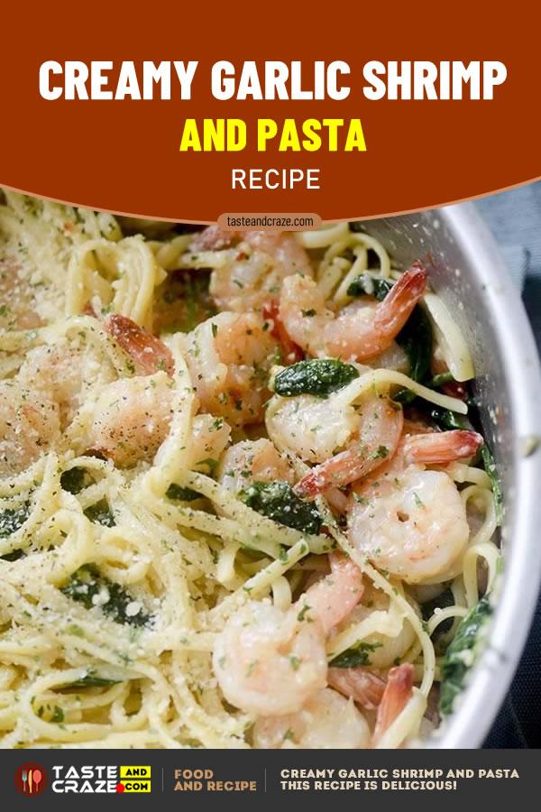 Creamy Garlic Shrimp and Pasta Recipe #CreamyRecipe #GarlicRecipe #ShrimpRecipe #PastaRecipe #ShrimpandPastaRecipe #ShrimpandPasta #ShrimPastaRecipe #ShrimpPasta #GarlicShrimp