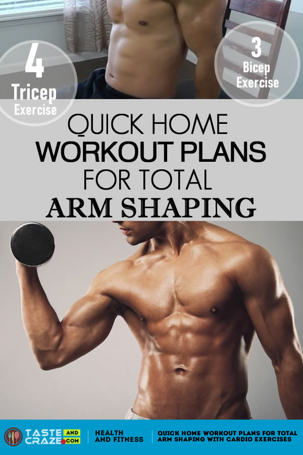 #WorkoutPlans  Workout Plans for Men for Total Arm Shaping with Cardio Exercises. #WorkoutPlansforMen