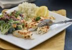 Healthy Dinner Idea-Flaky Parmesan Tilapia-tasteandcraze.com