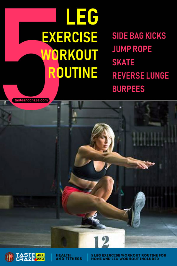 5 Leg Exercise Workout Routine For Home And Leg Workout Included #LegExercise #WorkoutRoutine #Workout #WorkoutRoutineForHome #WorkoutAtHome #LegWorkout