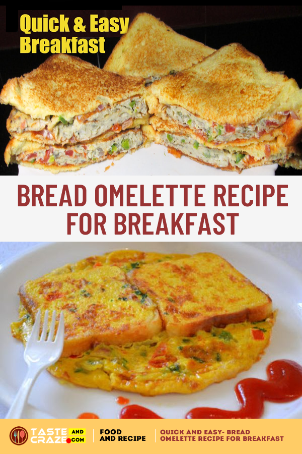 Are you in a habit of getting up late in the morning? Don't get time for making a healthy breakfast? So, Here is the perfect bread omelette recipe for breakfast.