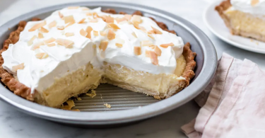 Coconut Cream Pie is a classic dessert for anyone who loves the flavor of coconut.