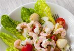 PRAWN COCKTAIL RECIPE- EASY SALAD WITH CHERRY TOMATOES