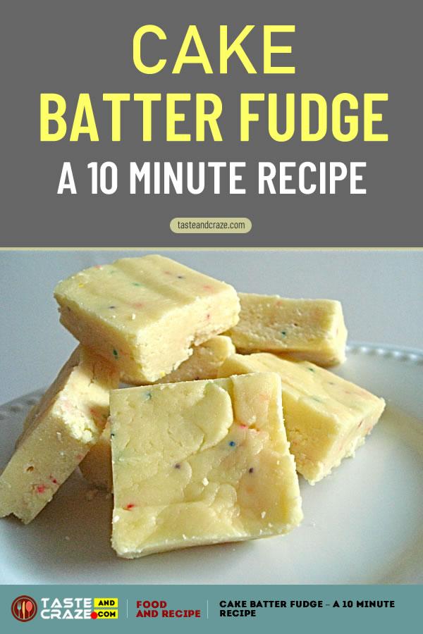 #CakeRecipe #CakeBatterRecipe #FudgeRecipe #BatterRecipe #CakeBatterFudgeRecipe #CakeBatterFudge #CakeBatter #Cake Cake Batter Fudge Recipe. Like cake batter? Then you will love this. Seriously.
