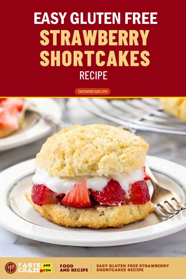 Easy Gluten Free Strawberry Shortcakes Recipe #GlutenFree #Gluten #Strawberry #Shortcakes #StrawberryShortcakes #Shortcake #ShortcakeRecipe #EasyShortcake #EasyShortcakes #whippingcream #whipping #Gluten #bakingpowder