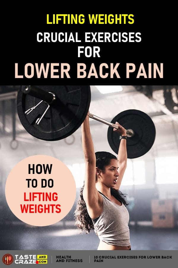 Lifting Weights 10 Crucial Exercises for Lower Back Pain #CrucialExercises #LowerBackPain #LowerPain #BackPain #ExercisesforLowerBackPain #ExercisesforBackPain #ExercisesforPain #LiftingWeights #LiftWeight