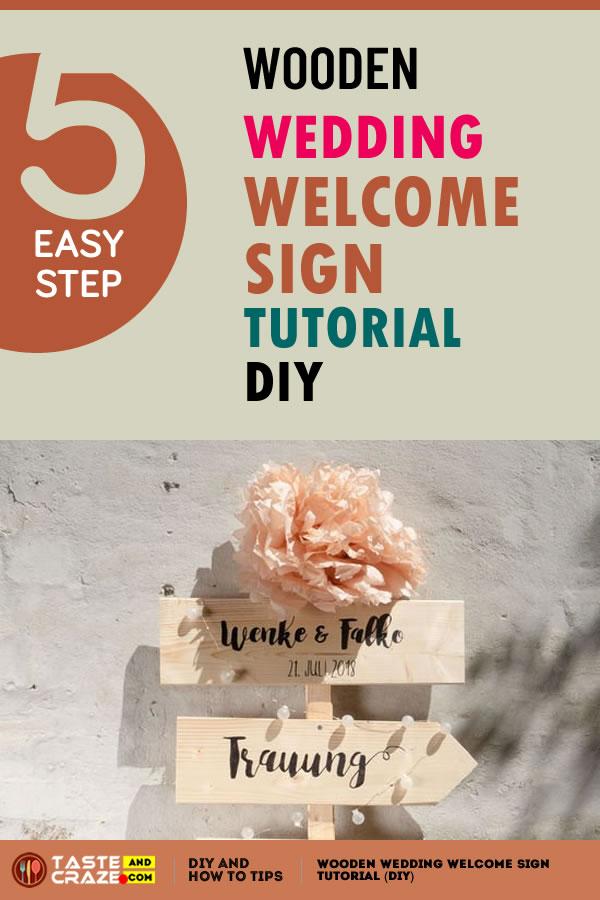 Wooden Wedding Welcome Sign Tutorial (Diy) #Wooden #Wedding #WelcomeSign #Tutorial #Diy #WeddingWelcomeSign #WeddingSign #DIYWelcomeSign #weddingparty #Lumocolor