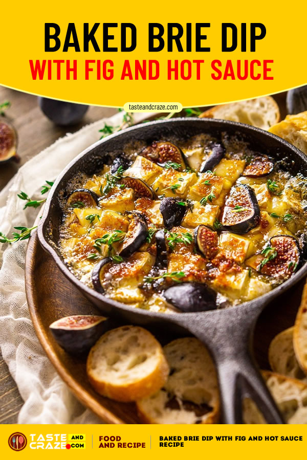 Baked Brie Dip with Fig and Hot Sauce Recipe #BakedBrieDip #Fig #HotSauce #BrieRecipe #BrieDip #BakedBrie #HotSauceRecipe #SauceRecipe #FigRecipe #DipRecipe #BrieDipRecipe #appetizer #PartyAppetizer #FigJam #Figs #brownSugar #Kahlua #CoffeeLiqueur #orangeZest #Brie