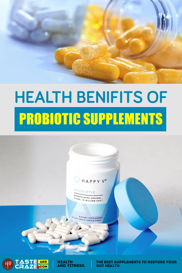 Health Benifits of Probiotic supplements- The Best Supplements to Restore Your Gut Health #Supplements #BestSupplements #GutHealth #RestoreGutHealth #Probiotic #ProbioticSupplements #LGlutamine #collagen #Fishoils #omega3 #magnesium #VitaminD #Quercetin