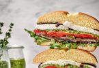 Summer Veggie Stack Sandwich Recipe