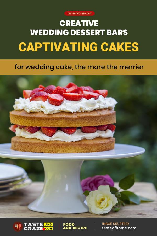 5 Creative Dessert Bars ideas for Wedding reception- Captivating Cakes #CaptivatingCakes #Cakes #Cake #WeddingCakes #WeddingCake #WeddingPie #PieWeddingDessert #DessertBarsIdeas #DessertBars #Dessert #DessertIdeas #DessertIdea #DessertBar #Wedding #WeddingDessertBar #WeddingDessertBars