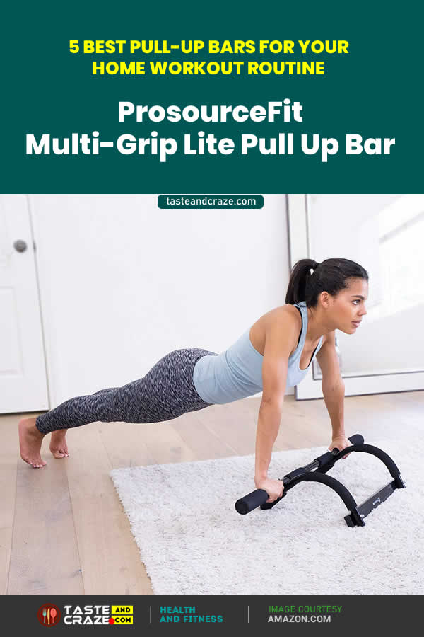 5 Best Pull-Up Bars For Your Home Workout Routine- ProsourceFit Multi-Grip Lite Pull Up Bar