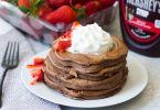 Chocolate Chocolate Chip Pancakes Recipe